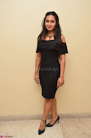 South Actress Amulya in short black dress at Kalamandir Foundation 7th anniversary Celebrations ~  Actress Galleries 007.JPG