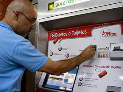 Metro fabrica tarjetas para activar cobro automatizado