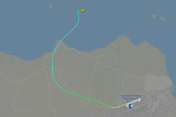 FlightRadar24 Ungkap Ketinggian 10,000 Kaki Titik Hilang Kontak Sriwijaya Air SJ182