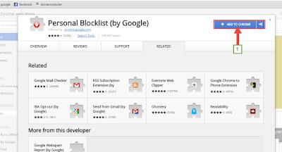 شرح منع بعض المواقع من الظهور في نتائج بحث جوجل