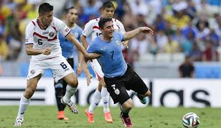 مشاهدة مباراة اوروجواي وكوستاريكا