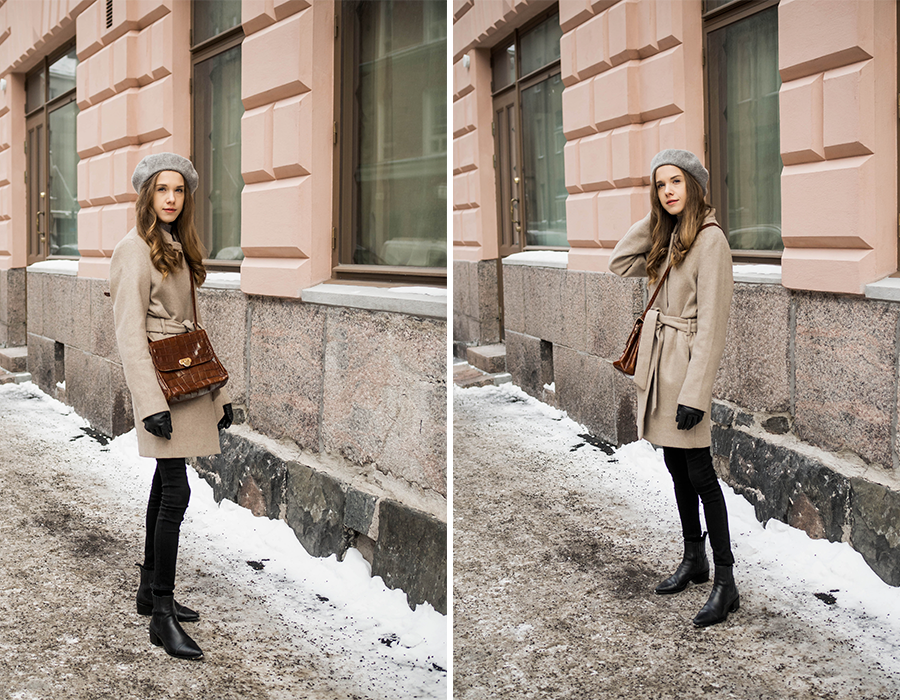 Neutraali pukeutuminen, kevät-talven asuinspiraatio // Neutral fashion, transitional outfit inspiration
