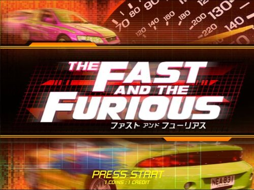 The Fast and Furious Arcade Dump