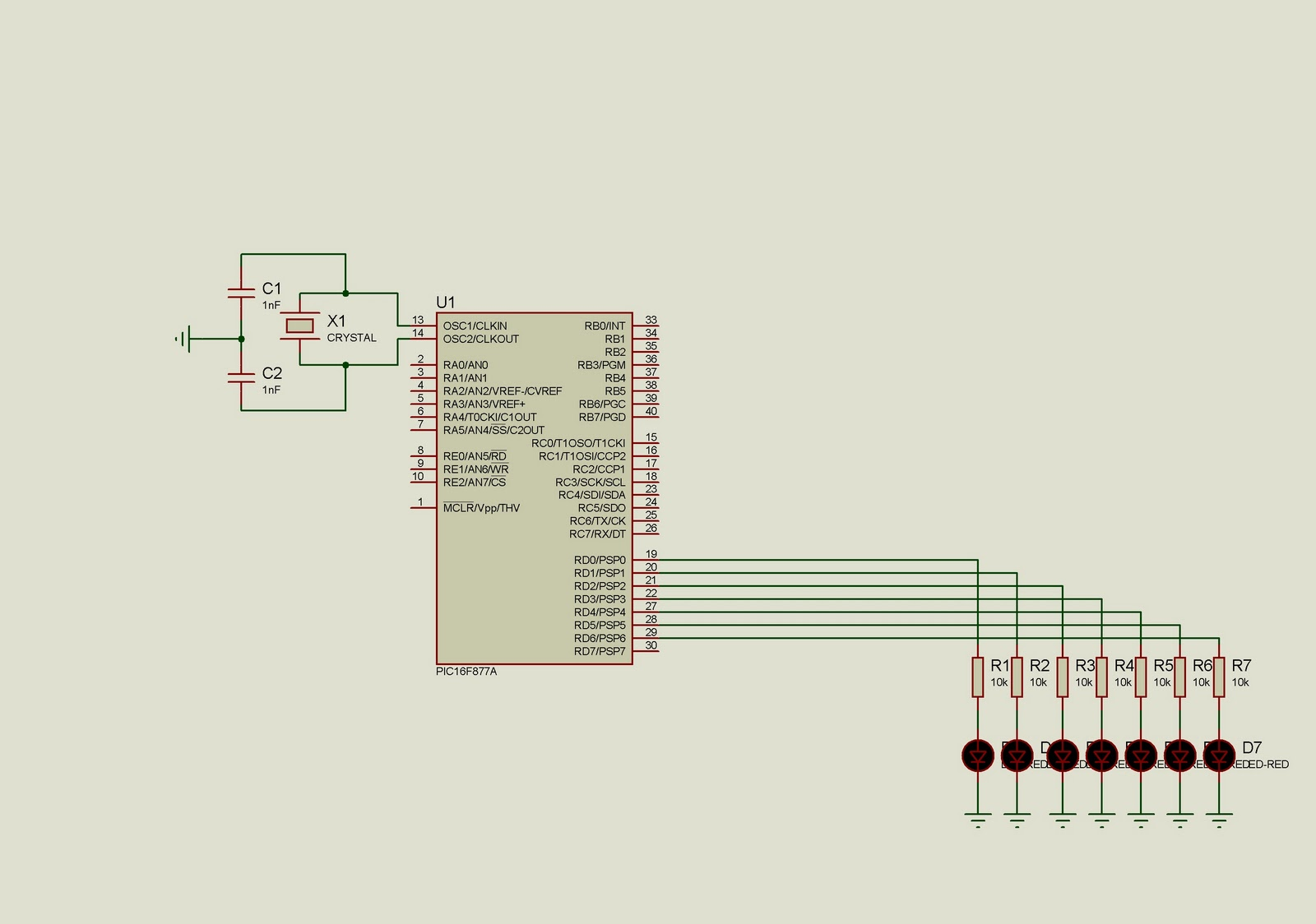 small resolution of circuit for ring johnson counter