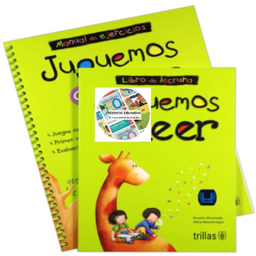 Juguemos A Leer Libro De Lectura y Manual de Ejercicios
