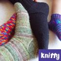 Hat-Heel Socks, from Knitty magazine