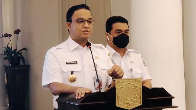 Covid-19 Mengganas, Anies Ambil Kebijakan Rem Darurat di Jakarta