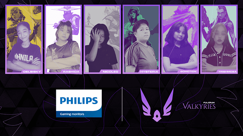 Philips Gaming Monitors partners with Fulcrum Esports Valkyries