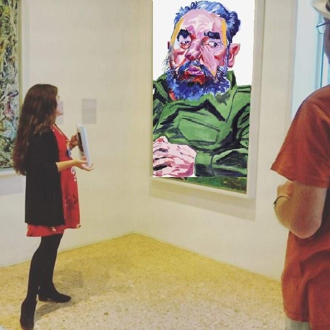 Cambian cuadro de Jackson Pollock por uno de Fidel Castro y le joden conferencia a curadora de arte cubana Salomé García Bacallao