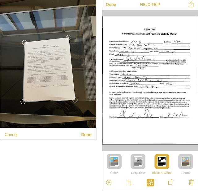 How to scan documents for free on iPhone and iPad