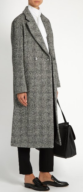 Weekend by Max Mara tweed coat on Matchesfashion.com