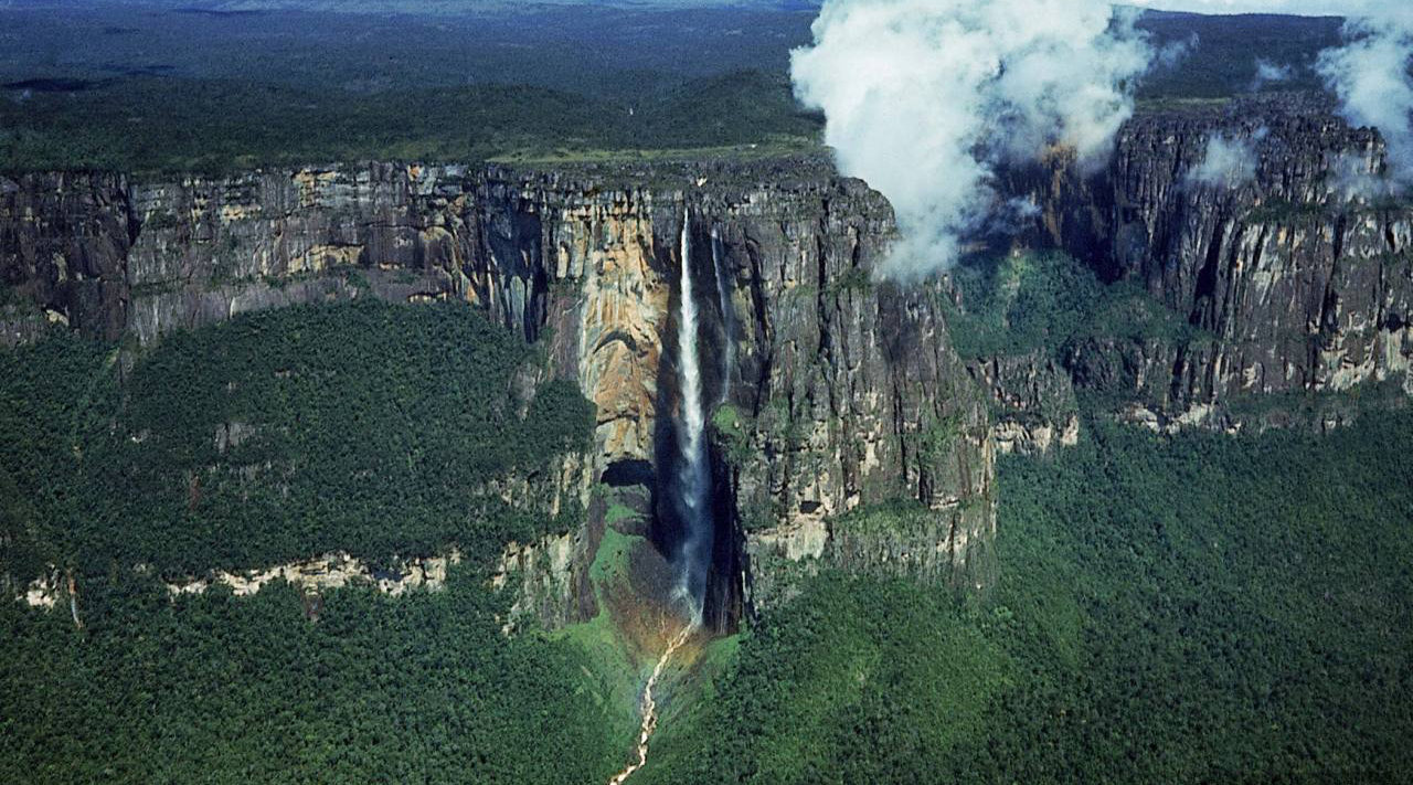 Air terjun Paling tinggi di Afrika Victoria