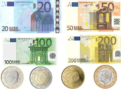 Countries and Currency Spain Euro