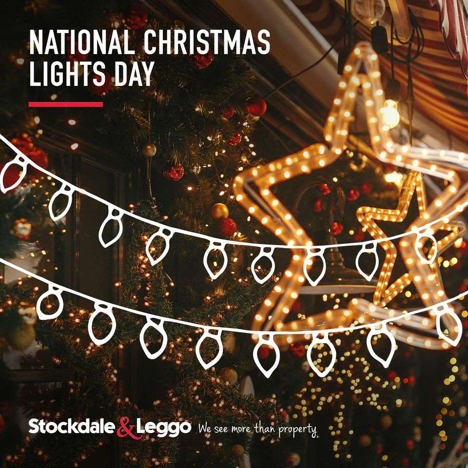 National Christmas Lights Day Wishes Beautiful Image
