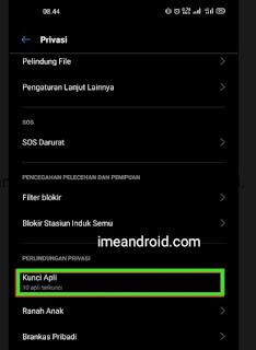 Cara sembunyikan aplikasi di hp Realme