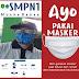 Kasek SMPN 1 Muara Badak Ingatkan Seluruh Keluarga Besar Almamaternya Memakai Masker