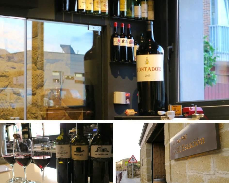 BODEGA CONTADOR  La III Estacón リオハにあるワインバーの店内