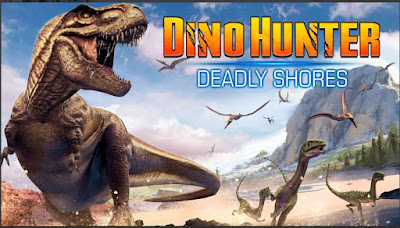 Game Dinosaurus Offline Dino Hunter Deadly Shores APK MOD