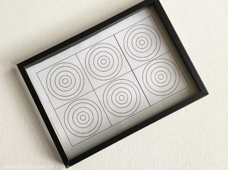 Kandinsky circles template