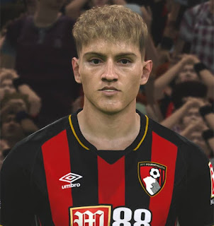 PES 2017 Faces David Brooks by ABW_FaceEdit