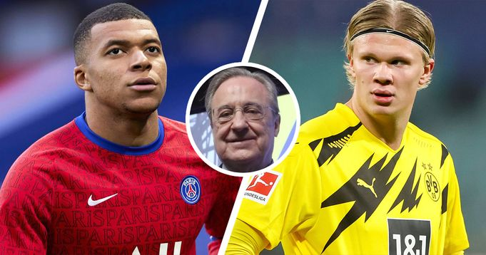 Madrid plans to sign Mbappe and Haaland in 2022