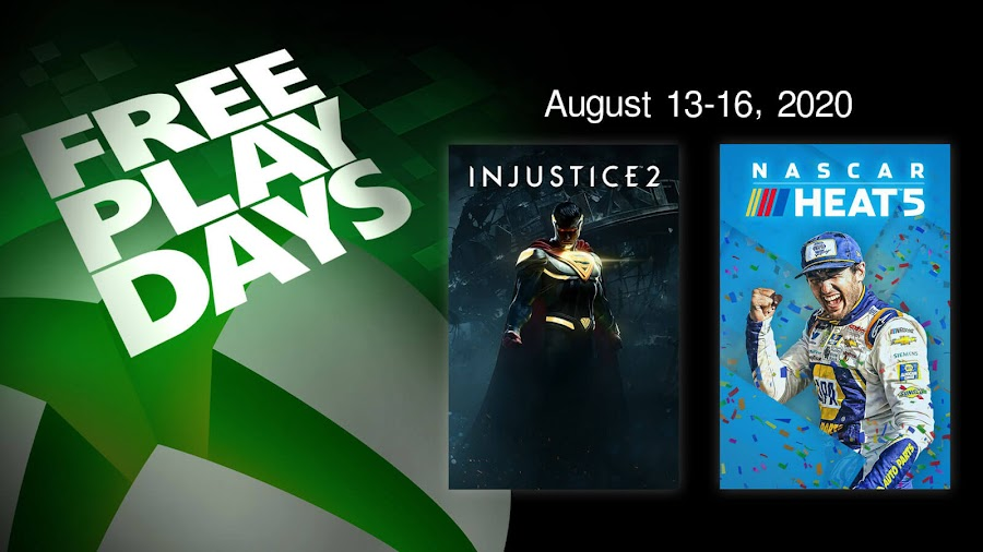 injustice 2 nascar heat 5 xbox live gold free play days event
