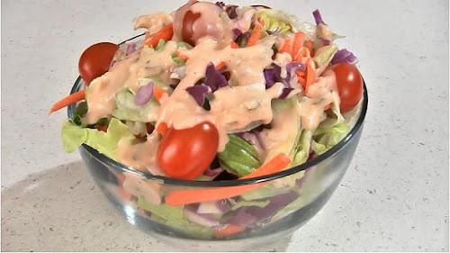 Resep Salad Sayur Thousand Island