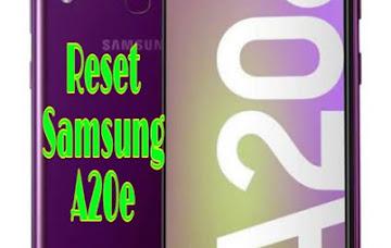 Cara Hard Reset HP Samsung A20e Sekaligus Untuk Membuka Kunci Yang Lupa Password