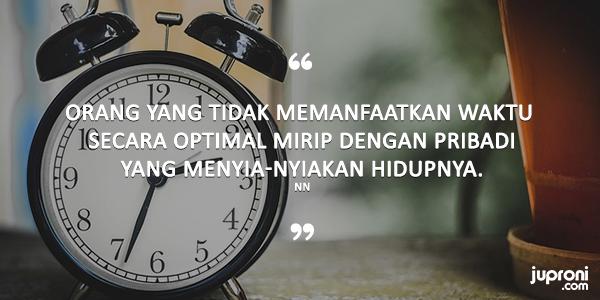 50 Quotes Kata Kata Bijak Tentang Menghargai Waktu