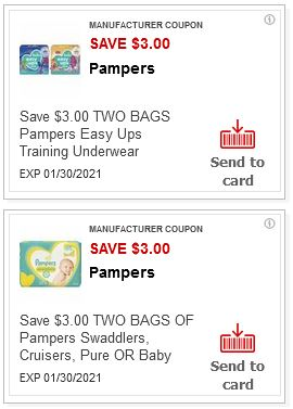 $3.00/2 Pampers CVS APP ONLY MFR Coupon (go to CVS App)