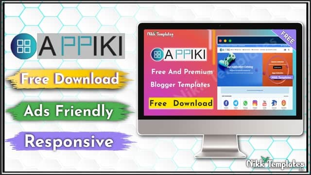 (Orginal) Appiki - App Store & Review Blogger Template - Nikk Templates