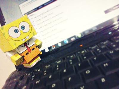 Cubeecraft Spongebob