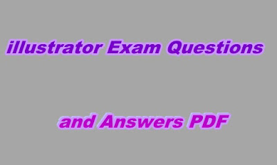 Illustrator Exam Questions and Answers PDF