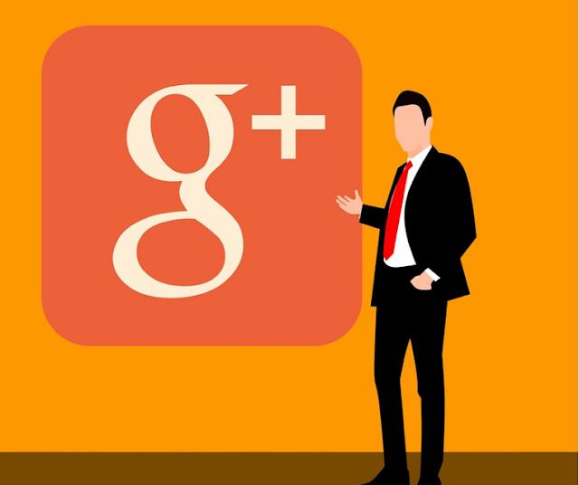 google plus social media page