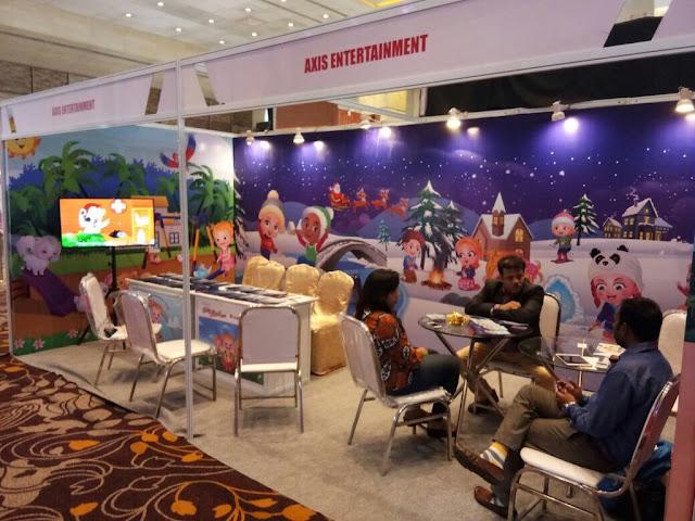 Axis Entertainment Limited - India Licensing Expo at Sahara Star, Mumbai