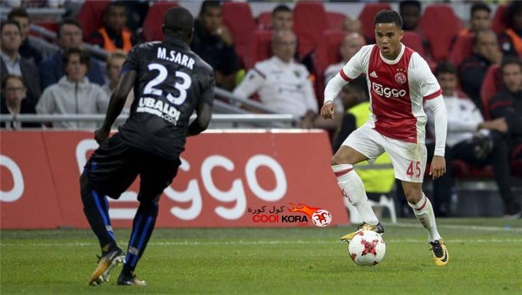 تقرير مباراة أياكس أمستردام أمام روما في الدوري الأوروبي