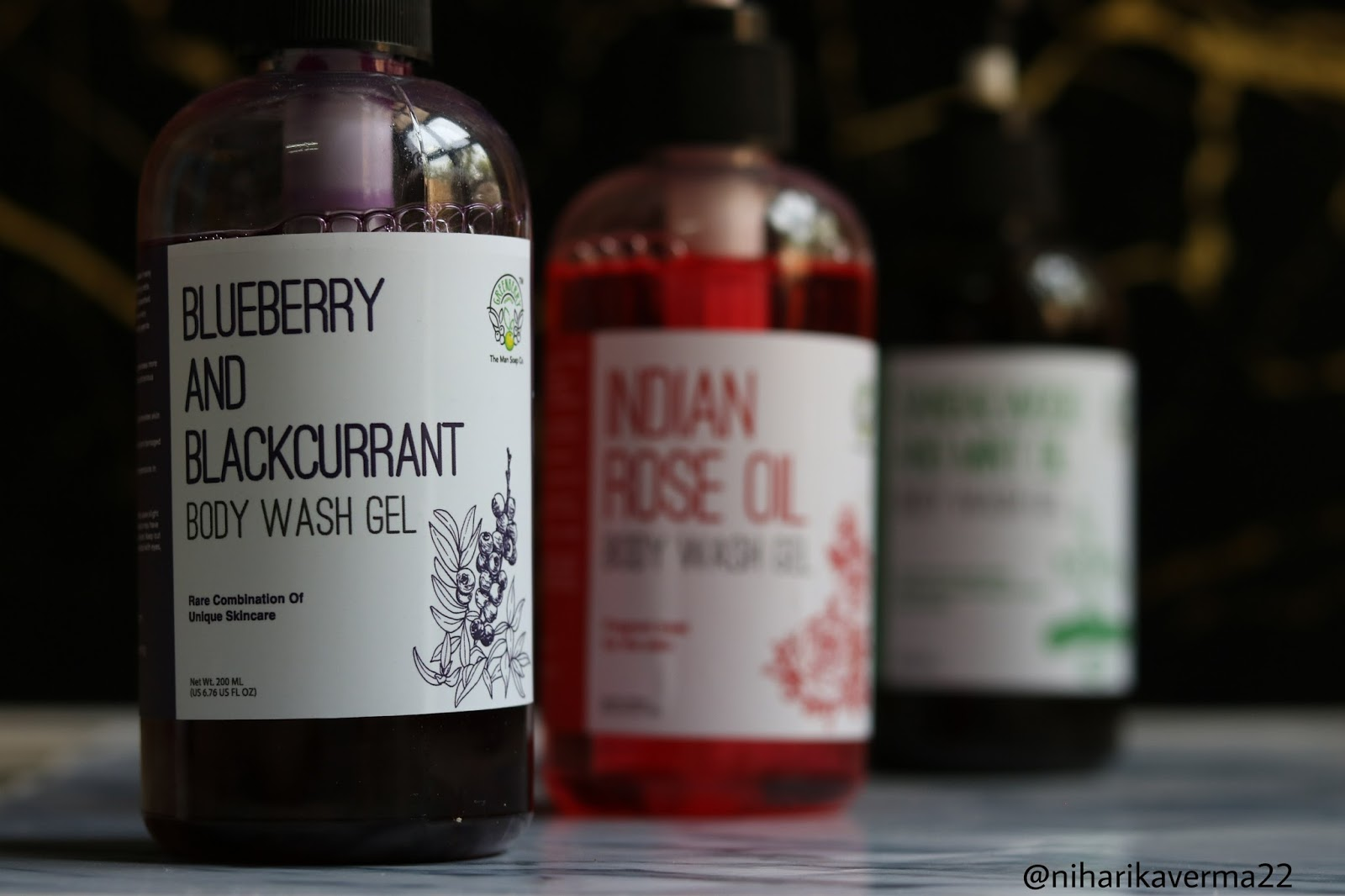 Blueberry Body Wash
