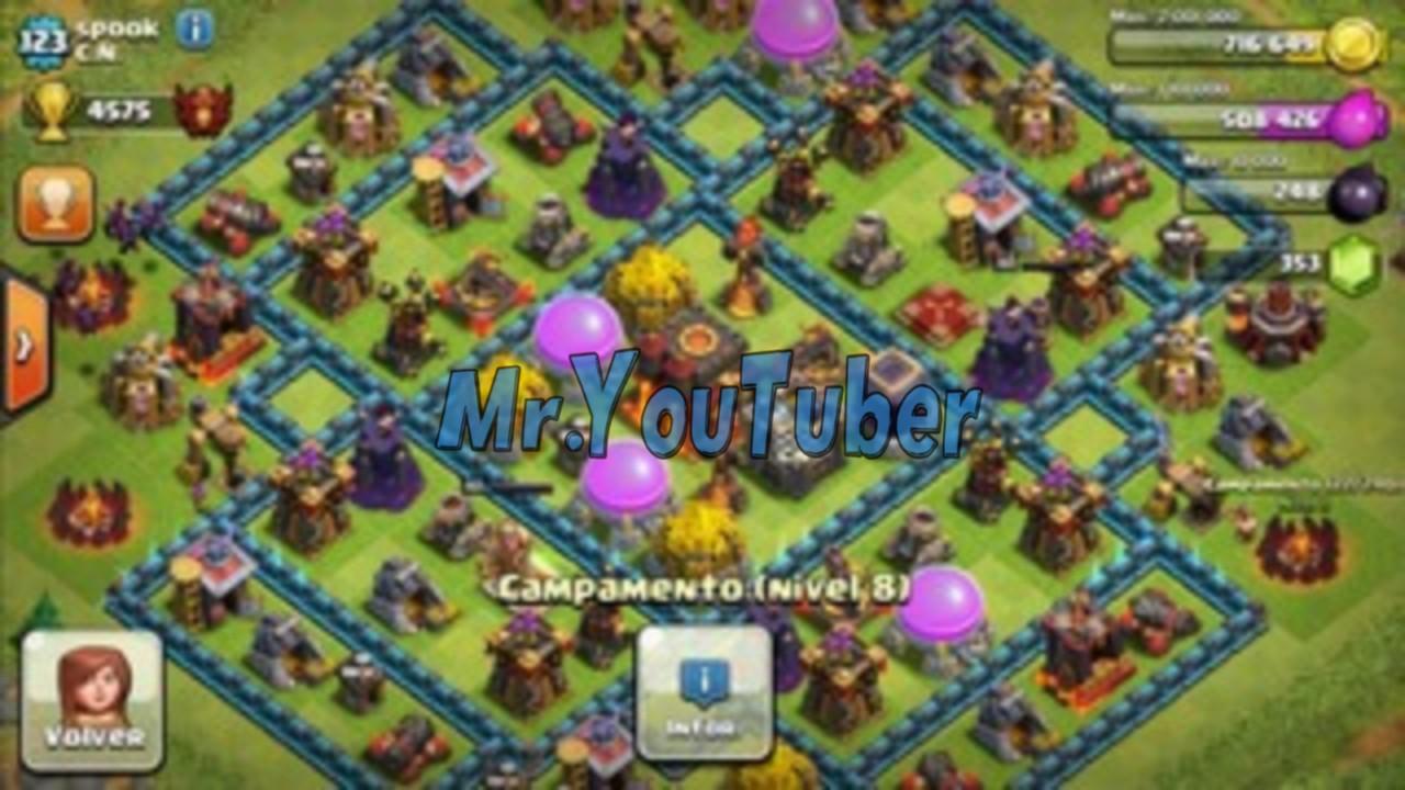 تحميل لعبة clash of clans مهكرة في أحدث إصدار