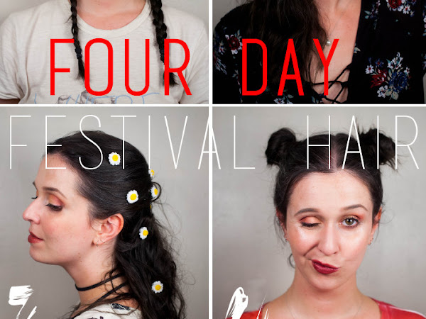 Beauty: surviving Werchter with four days of good hair