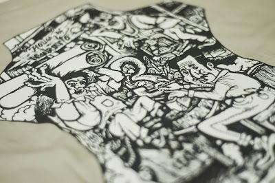Contoh Desain Kaos Keren, Simple, Unik Yang Kekinian Cocok Untuk di Sablon