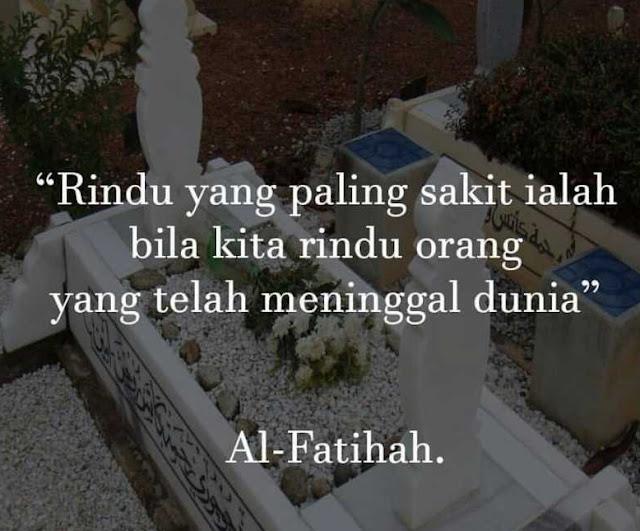 Al Fatihah Untuk Arwah Mummy Dan Arwah Abang Boy