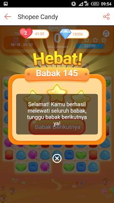 Main Shopee Candy Level 145 Bintang 3