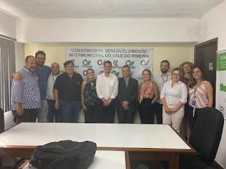 CODIVAR recebe Gerente de Políticas Públicas do Sebrae São Paulo e Sebrae Nacional para discutir o desenvolvimento do Vale do Ribeira