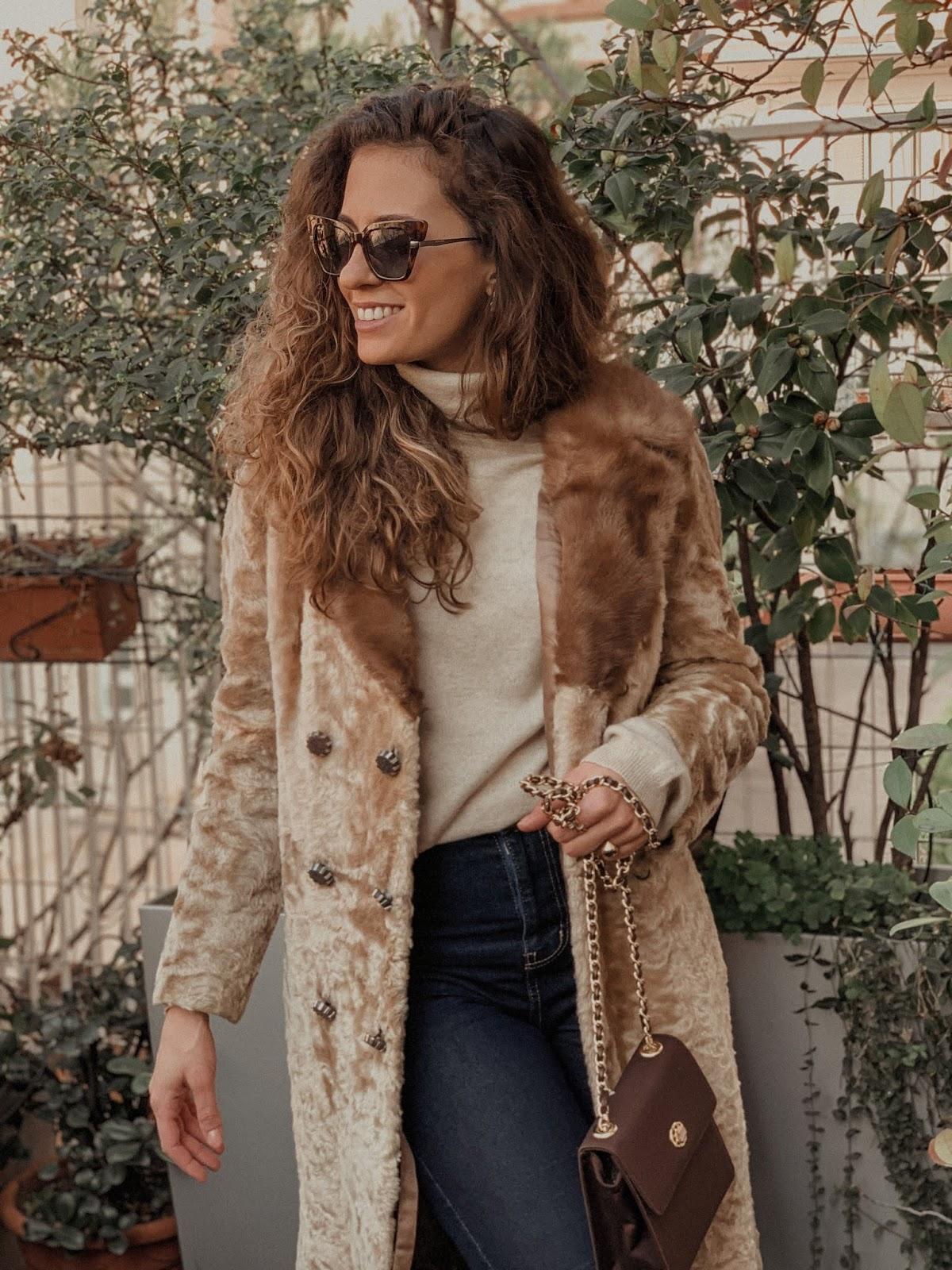 pelliccia vintage dare nuova vita ad un capo, pelliccia vintage, pelliccia anni 80, Valentina Rago, fashion need, fashion blog milano