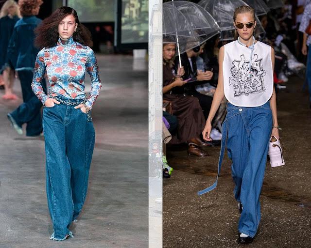 джинсы свободного кроя 1