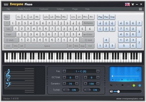 Download Every One Piano 2.2.7.10 – Phần mềm giả lập Piano trên máy tính