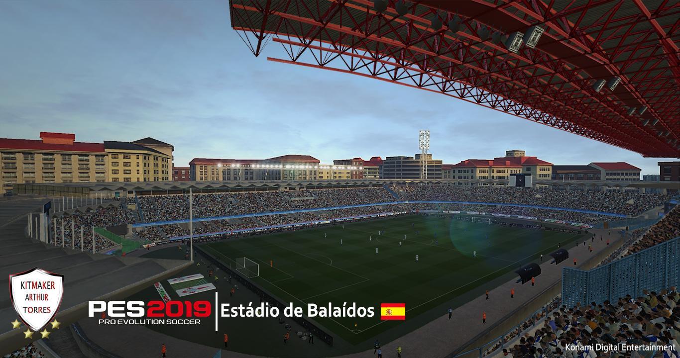 PES 2019 Estádio de Balaídos (Celta de Vigo's Home) by Arthur Torres