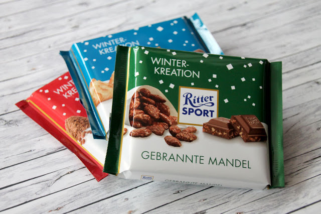 Ritter Sport Schokolade Winter-Kreation - Gebrannte Mandel