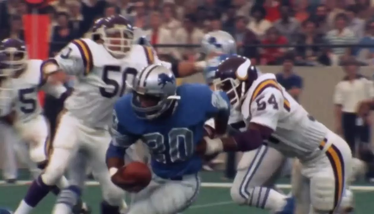 Billy sims detriot lions