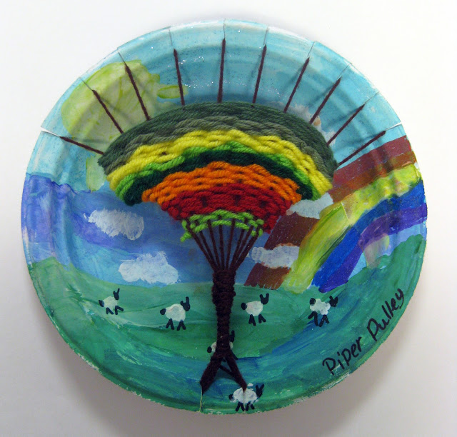 Wall Hanging Lesson Plan: Cassie Stephens: In The Art Room: The Art Show Part 2